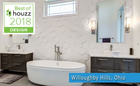 bathroom remodel service award winner