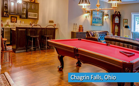 basement remodeling in chagrin falls