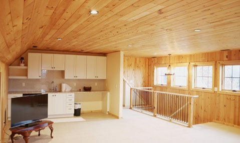 chagrin falls garage and apartment remodel