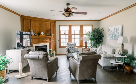 interior renovation in willoughby hills