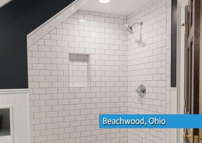bathroom remodel in beachwood ohio