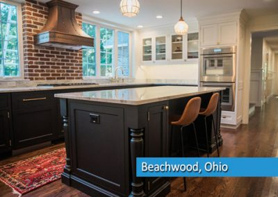 Kitchen remodel in beachwood