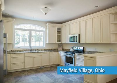 Kitchen remodel in mayfield village