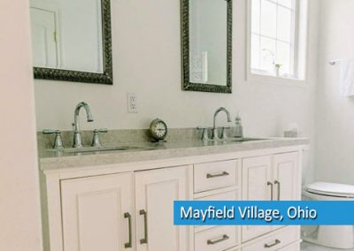 bathroom remodel in mayfield village