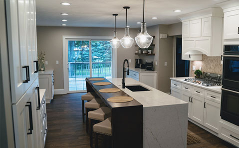 kitchen remodel in painesville
