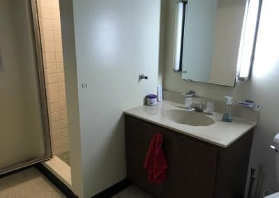 Lakewood Bathroom Remodel before picture