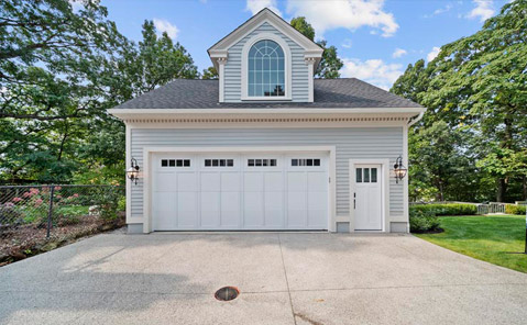 garage and portico project in lakewood