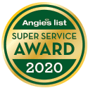 Angie's List Super Service Award Winner 2020