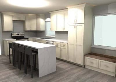 Kitchen and half bath remodel in Mentor 4