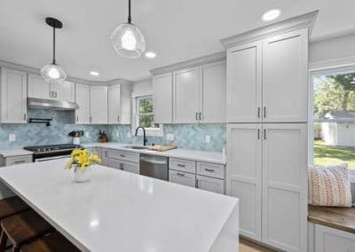 Kitchen and half bath remodel in Mentor 8