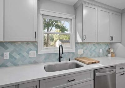 Kitchen and half bath remodel in Mentor 10