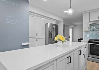 Kitchen and half bath remodel in Mentor 13